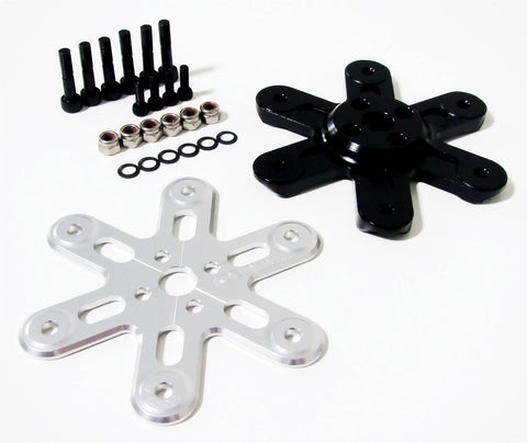 KDE-HPAHL Heavy-Lift Propeller Blade Adapter, Hex-Edition for Multi-Rotor (UAS) Series