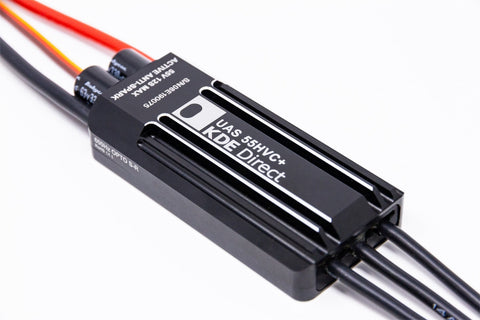 KDE-UAS55HVC 55A+HV Electronic Speed Controller (ESC) for Electric Multi-Rotor (UAS) Series