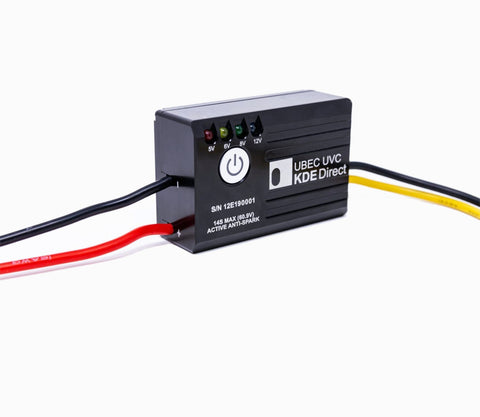 KDE-UBECUVC Battery Eliminator Circuit (UBEC) for Multi- and Single-Rotor (UAS) Series