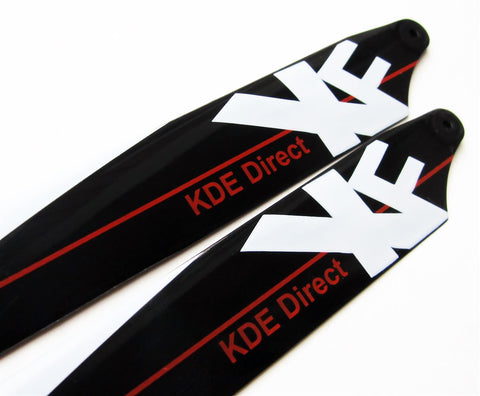 KDE130-XFMRB XF Main Rotor Blades for E-Flite Blade 130 X Series Helicopters