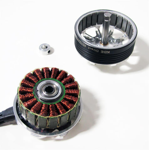KDE4012XF-400 Brushless Motor for Heavy-Lift Electric Multi-Rotor (sUAS) Series