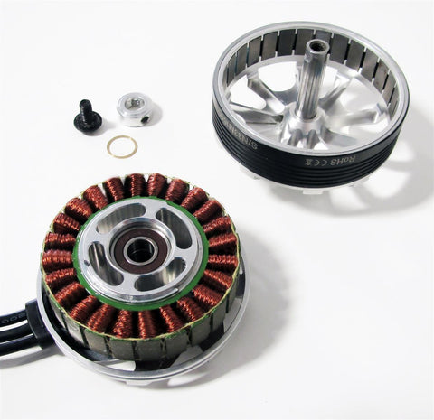 KDE6213XF-185 Brushless Motor for Heavy-Lift Electric Multi-Rotor (UAS) Series