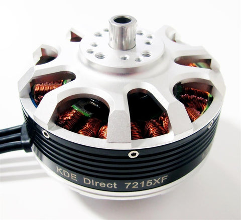 KDE7215XF-135 Brushless Motor for Heavy-Lift Electric Multi-Rotor (UAS) Series