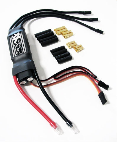 KDEXF-UAS55 55A+ Electronic Speed Controller (ESC) for Electric Multi-Rotor (sUAS) Series