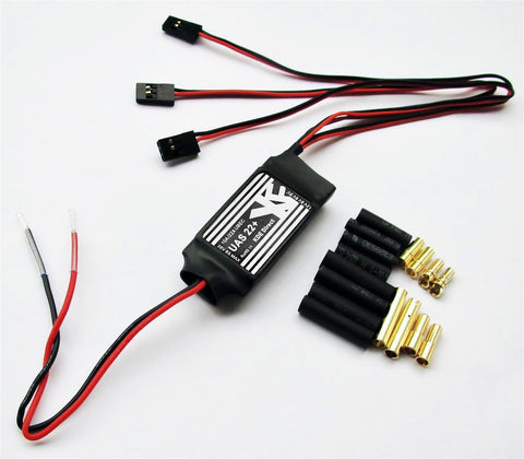 KDEXF-UBEC22 22A+ Battery Eliminator Circuit (UBEC) for Multi- and Single-Rotor (UAS) Series
