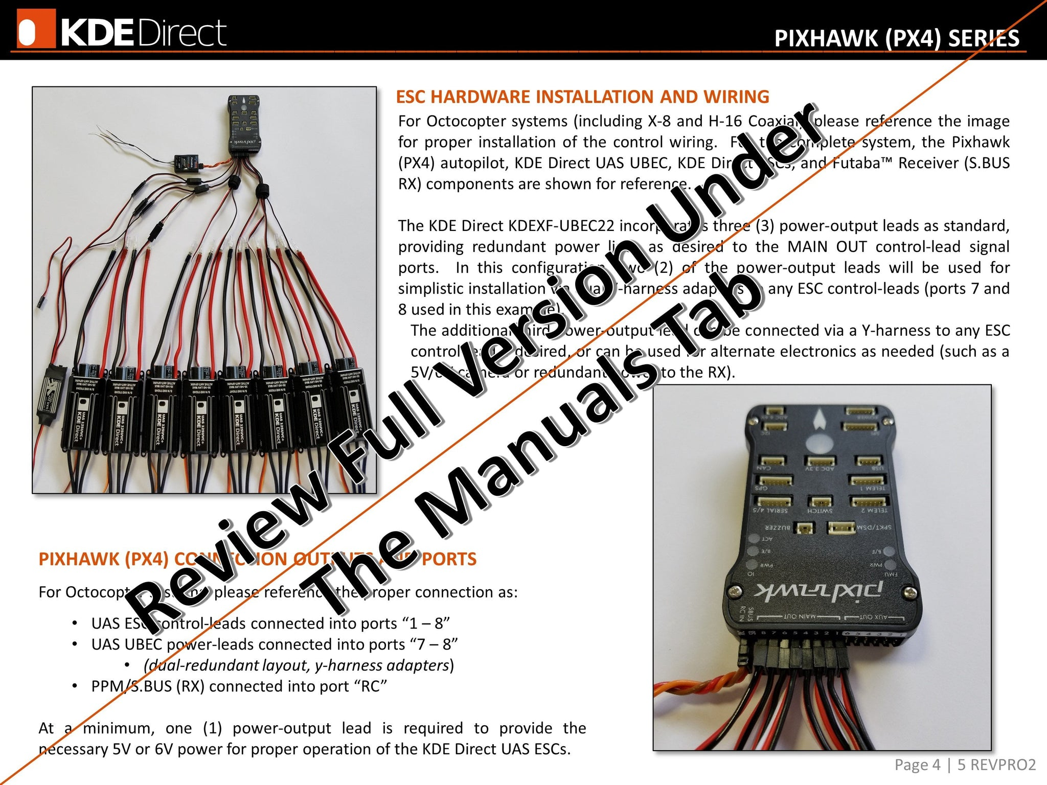 Electronic Speed Control Components Ask Answer Wiring Diagram Router Circuit Kde Uas125uvc 125a Uhv Uas Controller Direct Rh Kdedirect Com Switch