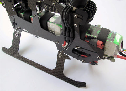 SG570-BTSA Battery Tray System Assembly for SAB Heli Division Goblin 570 Series Helicopters