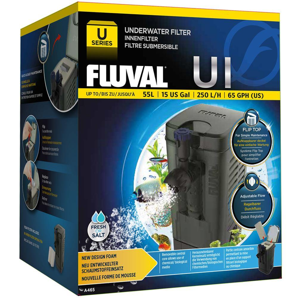 Fluval U1 Internal Underwater Filter Complete With Media
