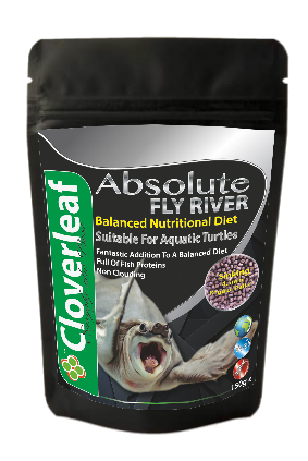 Absolute Aquarium Fly River Turtle Food 150g