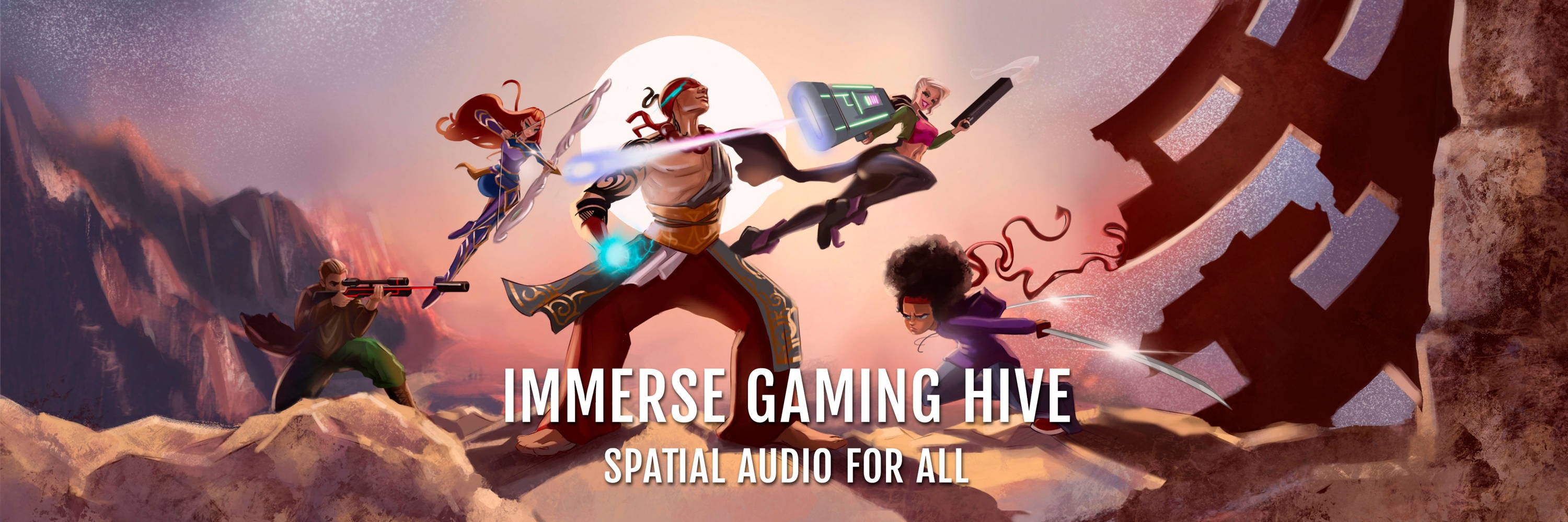 Immerse Gaming | HIVE. Spatial Audio for All