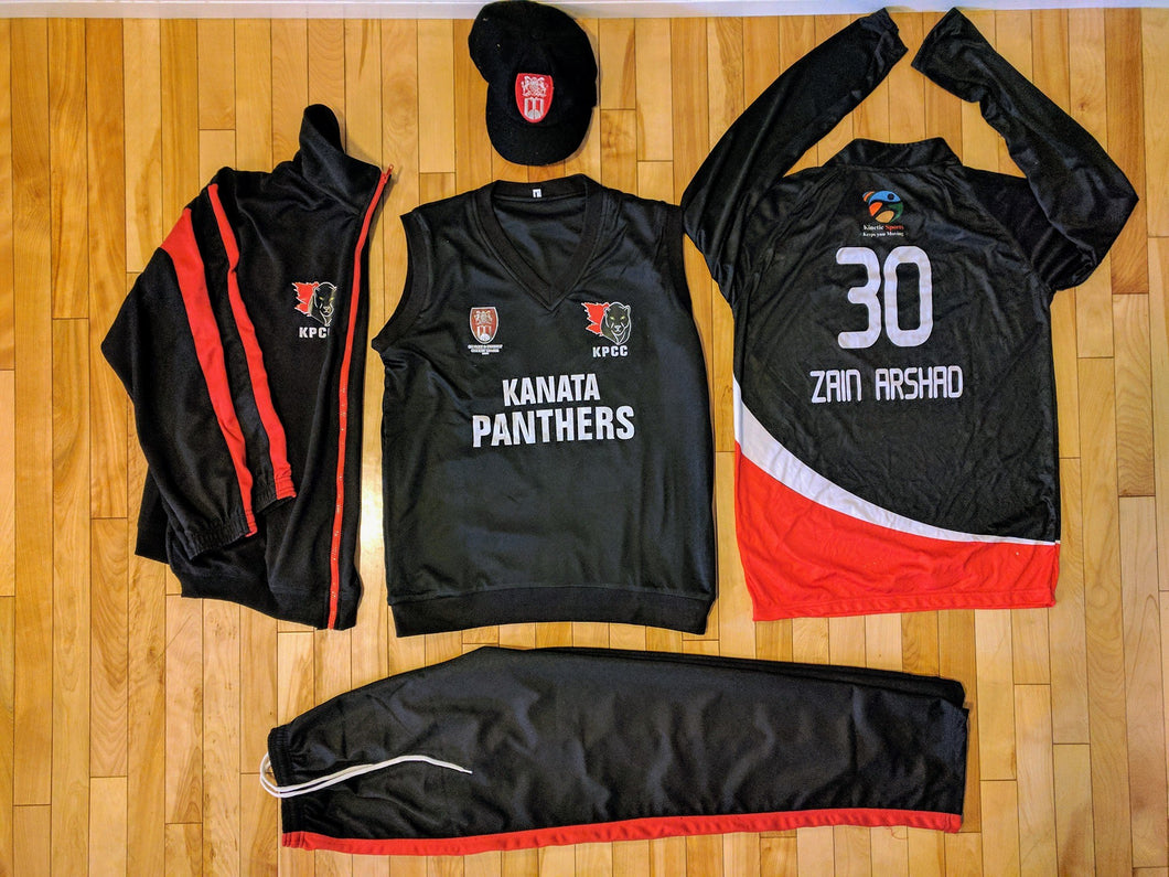 Jersey, Trouser, Cap and Jacket