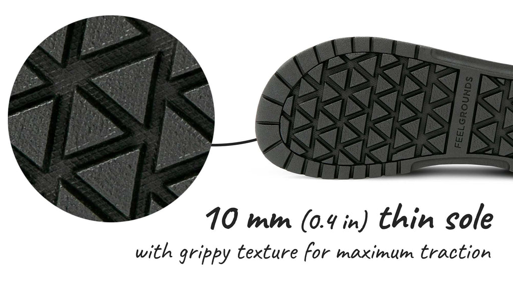 Feelgrounds Patrol Winter 10 mm thin sole with grippy texture