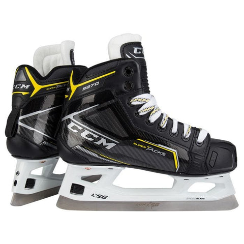 CCM Super Tacks 9370 Goal Skates Junior Intermediate
