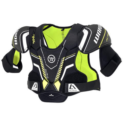 Warrior Alpha DX4 Shoulder Pads Senior