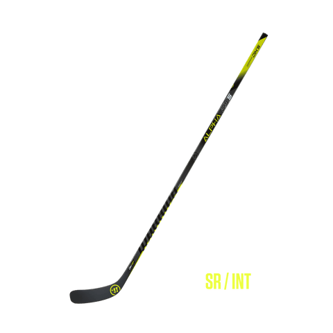 Warrior Alpha DX5 Grip Player Stick Senior