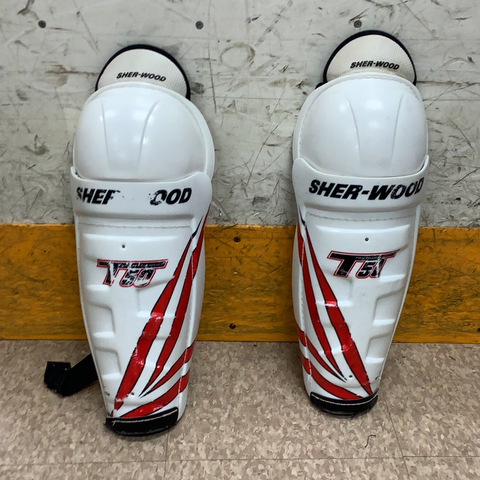 Used Sherwood T50 Shin Guards Senior 16""