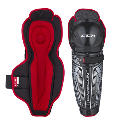 CCM JetSpeed FT350 Shin Guards Senior