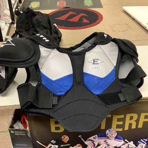 Used Easton Stealth Woman's Shoulder Pads Senior Extra Small