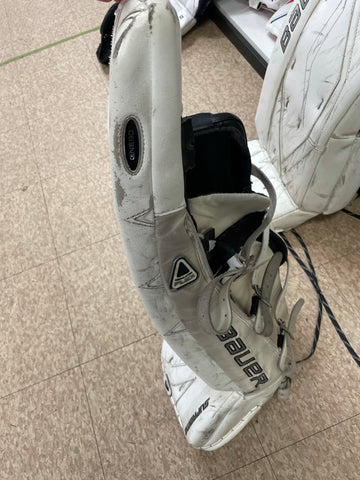 Used Bauer Supreme One80 Goalie Pads 29 + 1