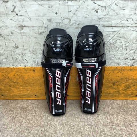 Used Bauer XSX Shin Guards  Senior 13""