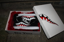 Load image into Gallery viewer, Bape Shark Teeth Custom Old Skool Vans
