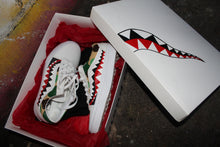 Load image into Gallery viewer, Bape Shark Teeth And Camo Vans