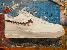Load image into Gallery viewer, Bape Teeth Custom Air Force 1's