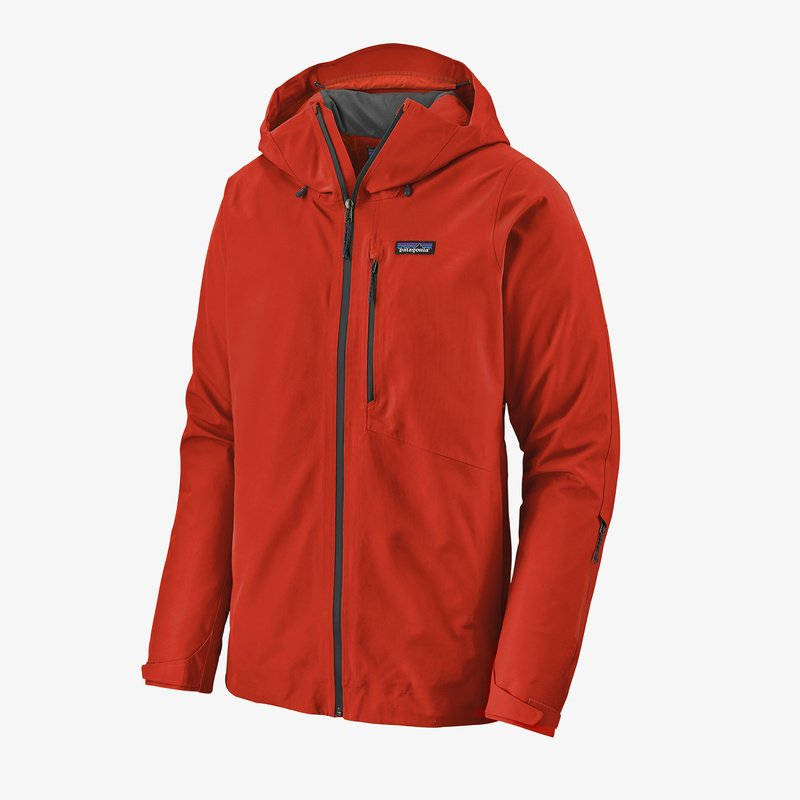 Patagonia Men's Powder Bowl Jacket - Hot Ember