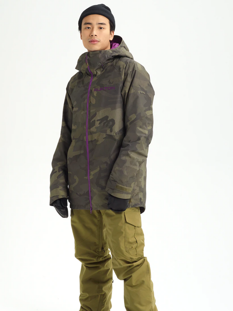 Men's Burton GORE‑TEX Radial Shell Jacket  (Camo)