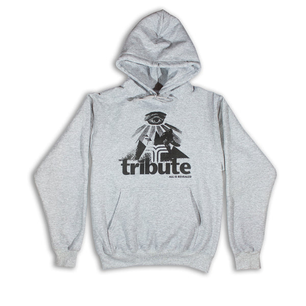 Tribute Revealed Hoodie - Ash Grey