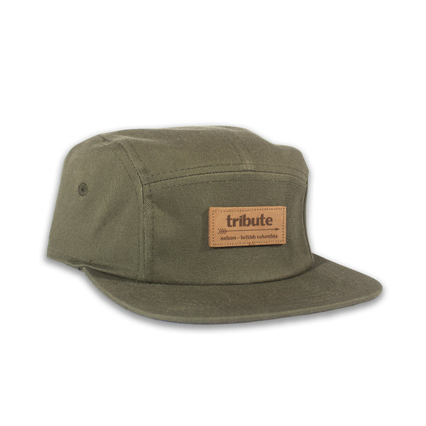 Tribute 5-Panel Hat - Olive