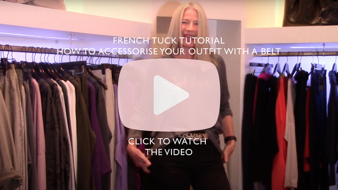 French Tuck Tutorial | How to accessorise your outfit with a belt