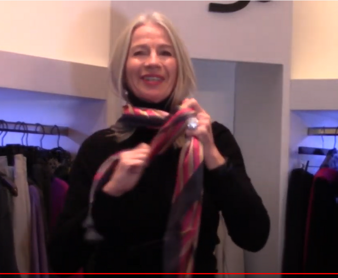 Scarf Tutorial: 3 Ways to Wear a Scarf