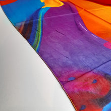 Load image into Gallery viewer, Multicolour Silk Scarf