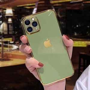 Electroplated Shockproof luxury Phone Case