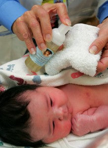 Hospitals Go Green with Safe Skincare for Babies
