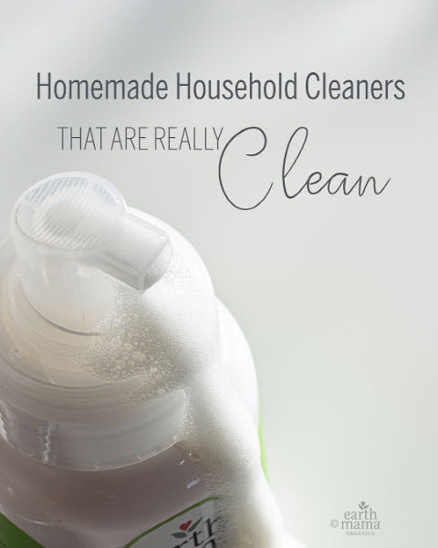 Homemade Household Cleaners That Are Really Clean - Earth Mama Blog
