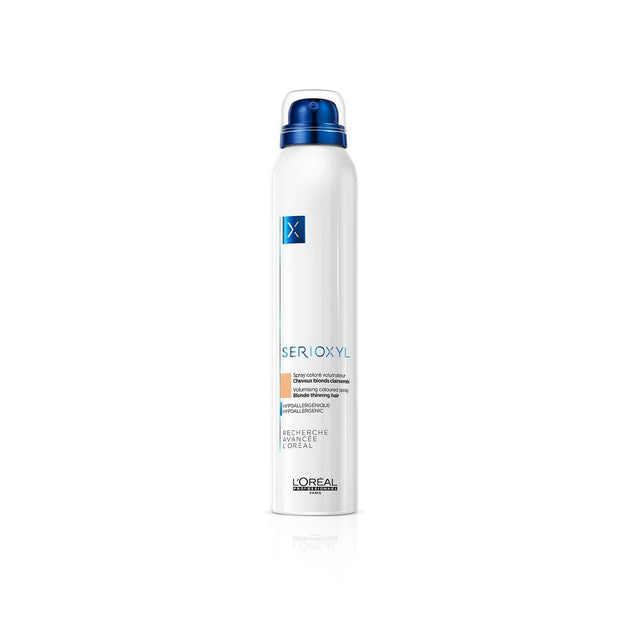 Sprays colorés corporisants et volumisants - SERIOXYL