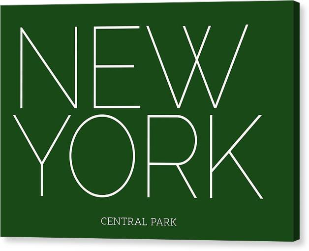 NYC Central - Canvas Print