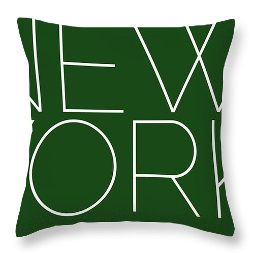NYC Central - Throw Pillow