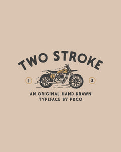 Two Stroke Typeface