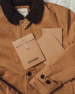 Limited Edition N1 Deck Jacket - Tan