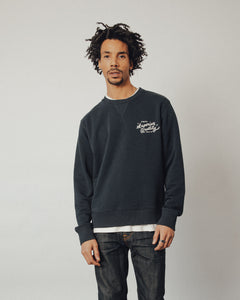 Superior Quality Crewneck Sweater - Navy