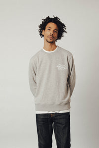 Superior Quality Crewneck Sweater - Grey Melange