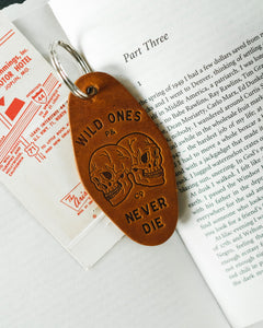 Wild Ones Skull Motel Key Fob