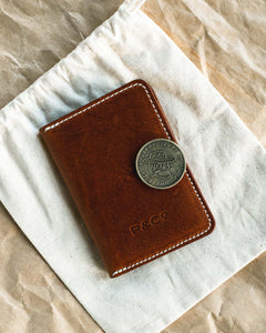 Good At Bad Decisions Leather Wallet
