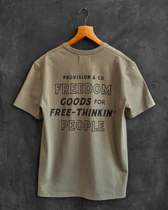Freedom Thinkers Graphic T-Shirt by P&Co