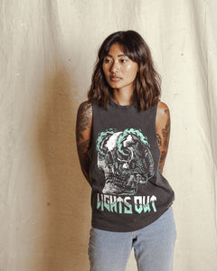 Lights Out Acid Wash Cut-Off