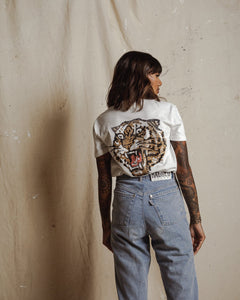 Lucky Tiger Slub T-Shirt