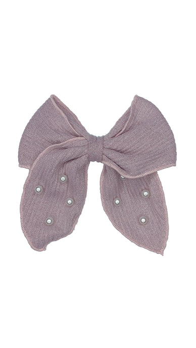 Shimmer Bow Clip-ELIVIA & CO.